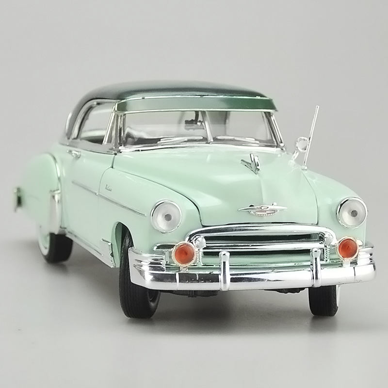 Brand New Motormax 1/18 Scale USA 1950 CHEVY BEL AIR Vintage Diecast Metal Car Model Toy For Gift/Kids/Collection/Decoration brand new norev 1 18 scale germany audi a4 dtm 2011 14 9 racing car diecast metal model toy for gift kids collection