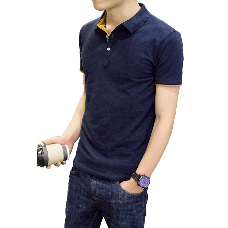 Short sleeved T shirt male plus fat large size loose trend summer dress round neck body clothes