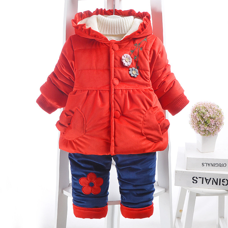 9176ae7f3df2 Cute Animal Kids Baby Girls Clothing Sets 3pcs 0-4 Years New Autumn ...