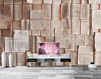 مخصصة 3d الجداريات ، والملمس كتاب خلفيات papel دي parede ، بار مقهى نوم غرفة المعيشة أريكة التلفزيون خلفية 3d خلفيات