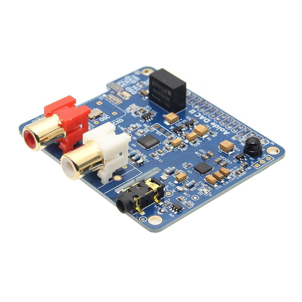 Raspberry Pi DAC II ES9018K2M DSD Audio DAC karta rozszerzenia karta dźwiękowa dla Raspberry Pi 3 Model B + Plus/3B /Pi 2B/B + w Akcesoria do tablicy demonstracyjnej od Komputer i biuro na AliExpress - 11.11_Double 11Singles' Day 1