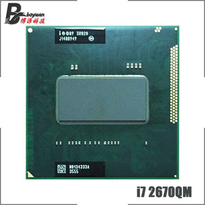 Image 1 - Intel Core i7 2670QM i7 2670QM SR02N 2.2 GHz Quad Core Eight Thread CPU Processor 6M 45W Socket G2 / rPGA988B