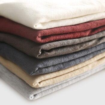Zecmos Long Sleeve Men T-Shirt V Neck Male T Shirt Cotton Fashion Top Tees Slim Fit 8