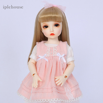 Free Shipping BJD Dolls Iplehouse Elin BID IP 1/6 Fashion cut High Quality Girl Toys Xmas Gifts Dollshe