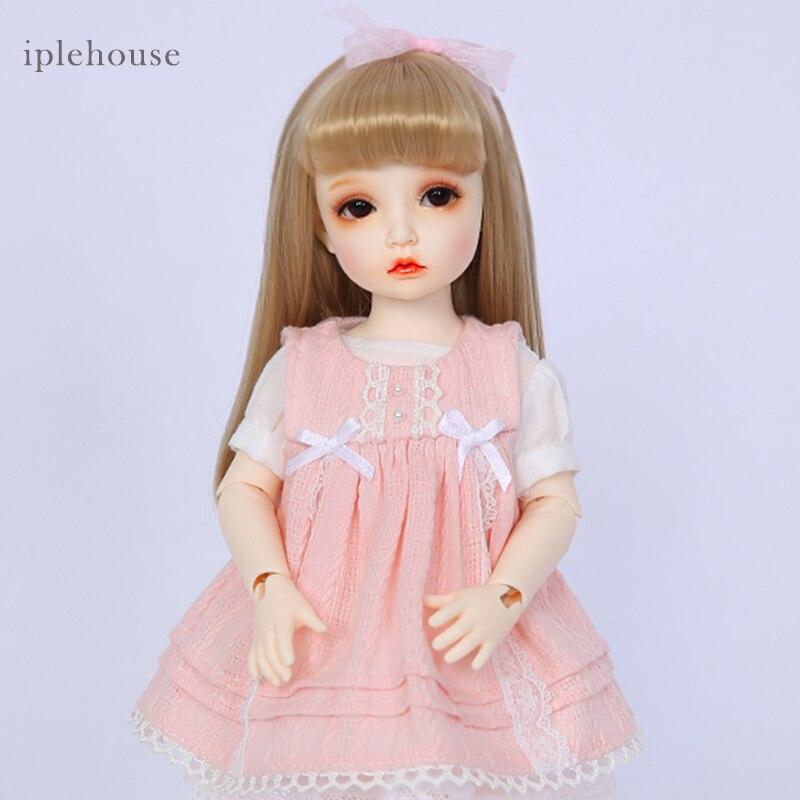 Бесплатная доставка BJD куклы Iplehouse Элин BID IP 1/6 мода вырезать высокое качество девушка игрушечные лошадки подарки на Рождество Dollshe