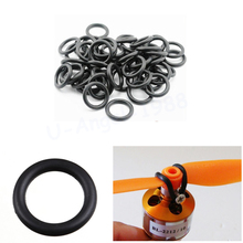 10pcs lot O Rings brushless motor propeller protector aprons strong aprons for rc airplane