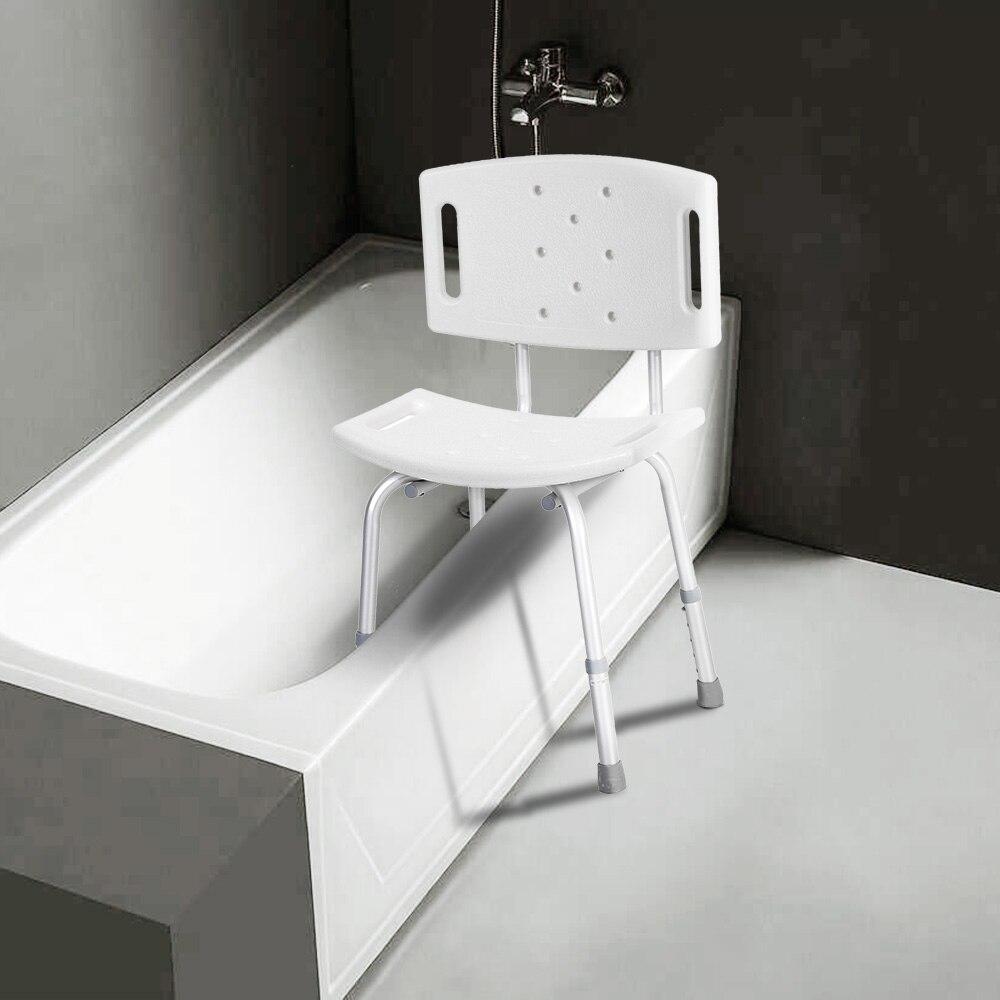 Bathing Aids Medical Shower Chair Bathtub Bench Bath Seat Stool ...