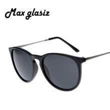 3 Colors New 2017 Women Coating Fashion Sun Glasses Female Vintage Metal Frame Leg Spectacles Sunglasses Men Round gafas