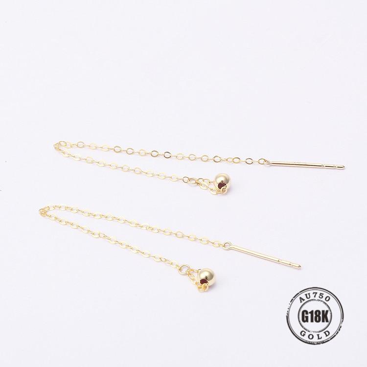 Nouveau Design cercle boucles d'oreilles solide 18 K solide or accessoires boucles d'oreilles femmes filles romantique bijoux faisant mariage beau cadeau