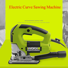 Woodworking Electric Curve Sawing Machine with Adjustable Speed Multifunction Reciprocating Saws Portable Woodworking Saws