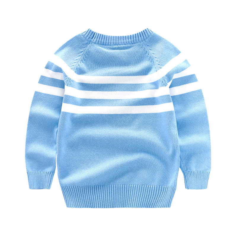 Stripe Boys Sweater Thin Cotton Spring 2017 Childrens Clothing Male child sweater pullover Sweaters Kids Casual Baby Boy Clothe