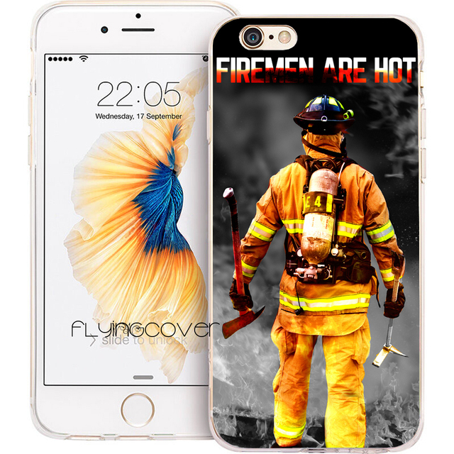 coque pompier iphone 6