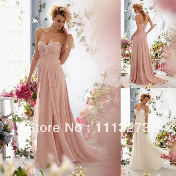 a232b9113d Graceful Light Pink Sweetheart Beach Court Train Chiffon Sexy Beach Wedding  Dresses WQ092