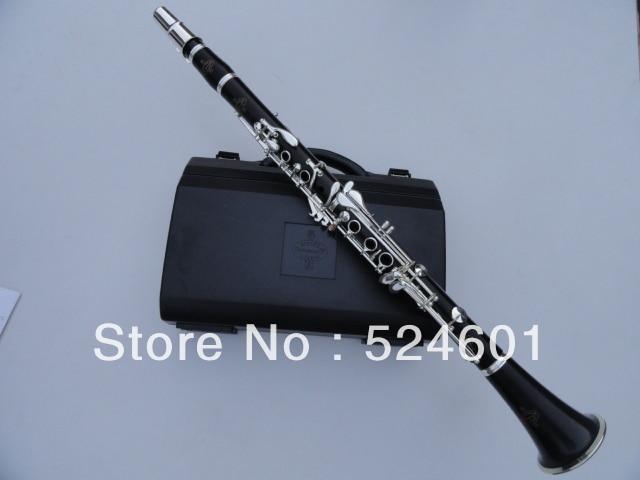 Brandneues Buffet Steigeisen & Cie APARIS Klarinette 17 Key Bb mit Case / 1986 E13 Ebenholzrohr spielt Musikinstrumente