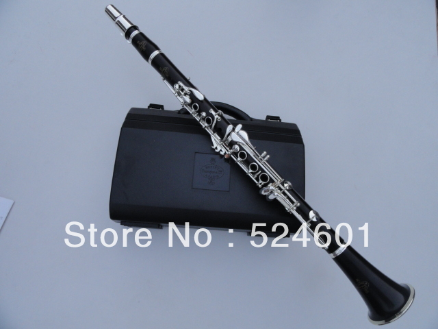Brand New Buffet Crampon&Cie APARIS Clarinet 17 Key Bb with Case / 1986 E13 Ebony Wood Tube Playing Musical Instruments