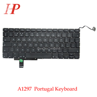 Genuine A1297 Portugal Keyboard With Backlight For Apple Macbook Pro 17'' A1297 Keyboard Portuguese Standard 2009-2012