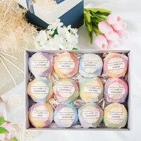 Skin Whitening 12pcs/box Bath Salt Bombs Stress Relief Bath Shower Bomb Mold 3D Sphere Shape DIY Bathing Tool Accessories