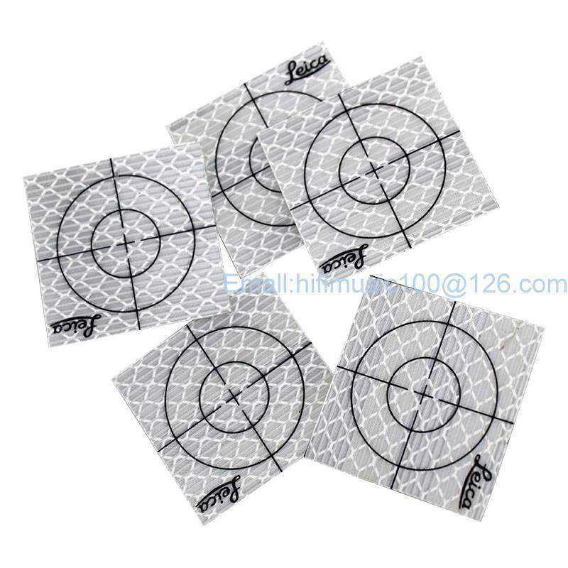 200pcs Reflector Sheet 50 -50 mm Reflective Tape Target for Total Station new 50pcs each size reflector sheet reflective tape target for total station