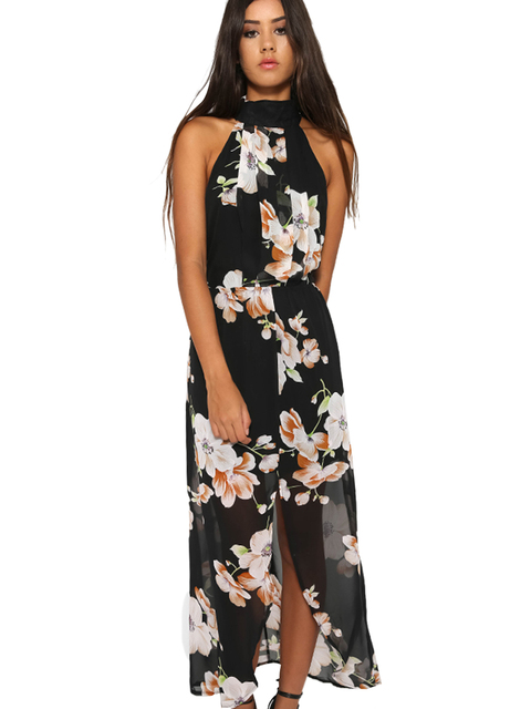High low dresses casual cheap maxi