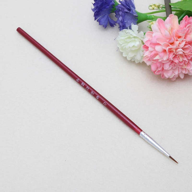 Herramienta de dibujo de pintura fina pintada a mano fina línea fina pluma arte suministros dibujo pluma pintura pincel Nylon pincel pintura pluma