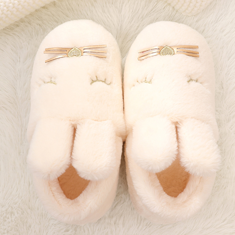 New home cotton slippers woman winter cute cartoon indoor ladies slides furry fluffy plush warm men women lovers bedroom shoes winter indoor slippers women warm plush home shoes cute cartoon unicorn slippers fluffy furry soft unicornio house slides ladies