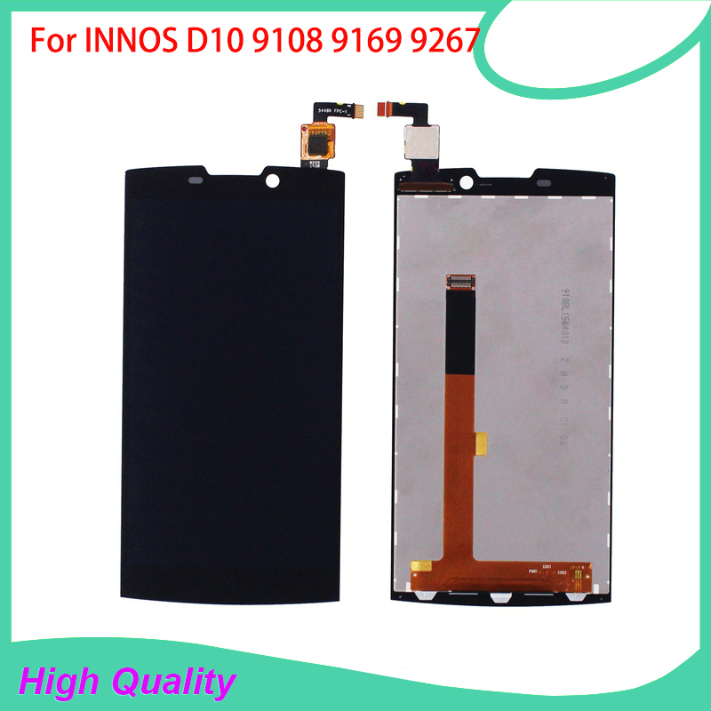 LCD Display Touch Screen For INNOS D10 Highscreen Boost 2 se 9108 9169 9267 Mobile Phone LCDs With Touch Panel Free Tools