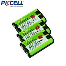 3 шт., аккумуляторная батарея для телефона, 850 мАч, 3,6 В, NiMH для Panasonic