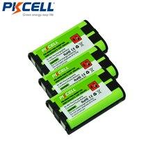 3pcs Home Cordless Phone Battery 850mAh 3.6V NiMH for Panasonic HHR P104 HHR P104A PKCELL