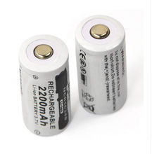 3.7V 2200mAh Lithium Li-ion 16340 Battery CR123A Rechargeable Batteries 3.7V CR123 for Laser Pen LED Flashlight Cell(China)