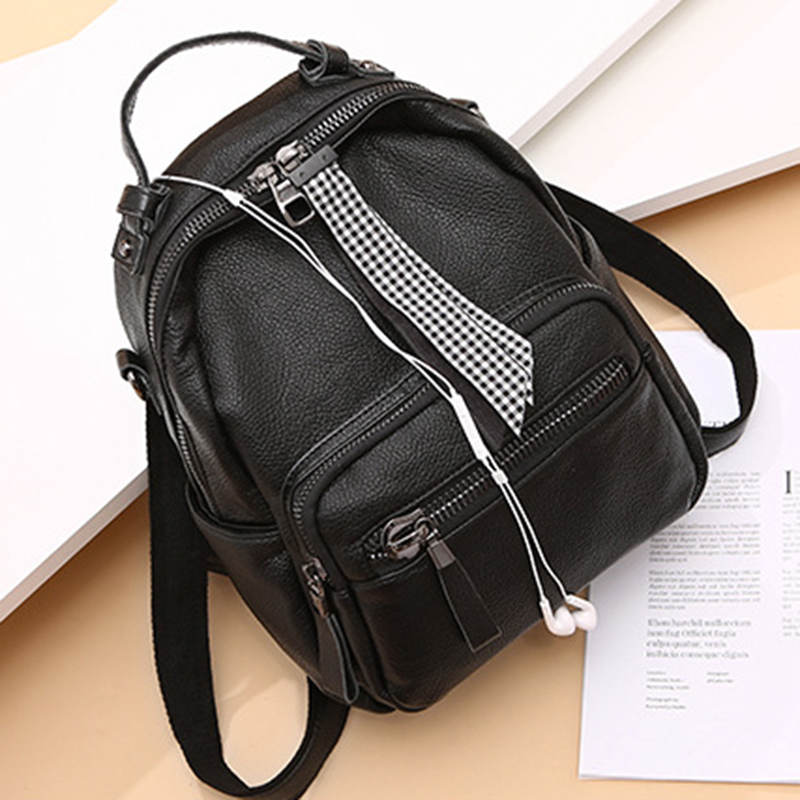 High Quality Natural Cowhide School Daypack Fashion Shoulder Bags Knapsack Genuine Leather Casual Travel Rucksack Women BackpackHigh Quality Natural Cowhide School Daypack Fashion Shoulder Bags Knapsack Genuine Leather Casual Travel Rucksack Women Backpack