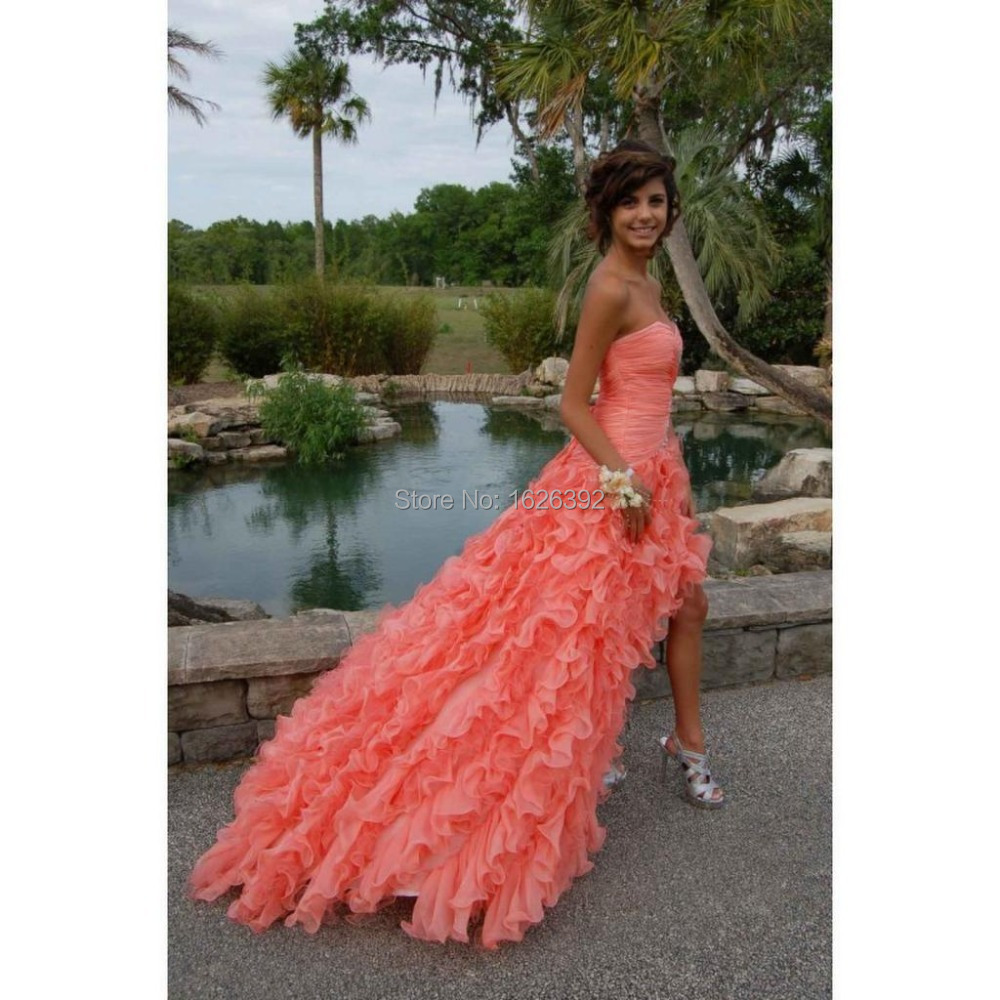 Online Get Cheap Short Coral Prom Dresses -Aliexpress.com ...