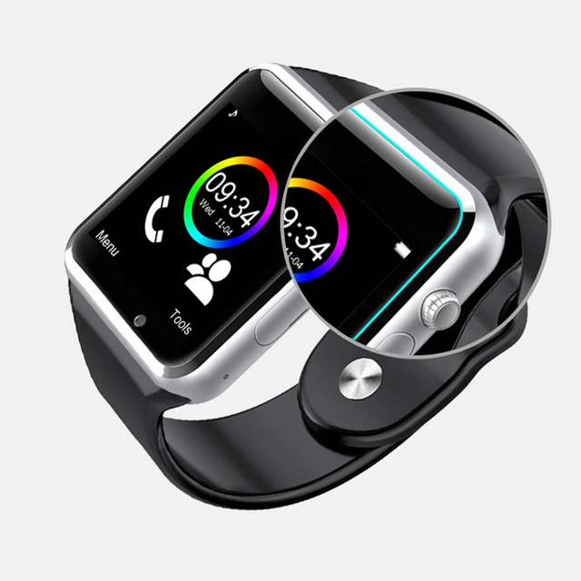 Smart Watch A1 for children men women android Bluetooth Smartwatch With camera Support call music Photography SIM TF card & DZ0 5