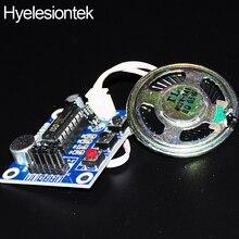 Loudspeaker DIY KIT Recording Module ISD1820 For Arduino Voice Speakers Board Playback Recorder Mic