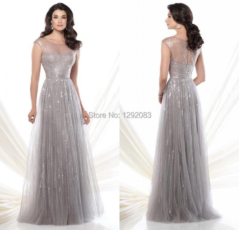 Aliexpress.com : Buy New Fashion 2015 O Neck Long Party Dress Cap ...