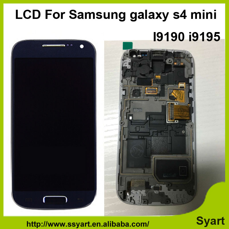 OEM No spot quality LCD Display With Touch Screen Panel Digitizer Assembly + Free Tolls for Samsung galaxy S4 mini i9195 i9190