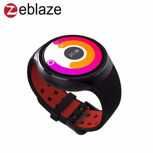 Zeblaze ТОР 3 г SmartWatch телефон Bluetooth 4.0 Android 5.1 1.4 inch Super AMOLED Corning Gorilla Glass3 1 ГБ + 16 ГБ GPS Смарт-часы