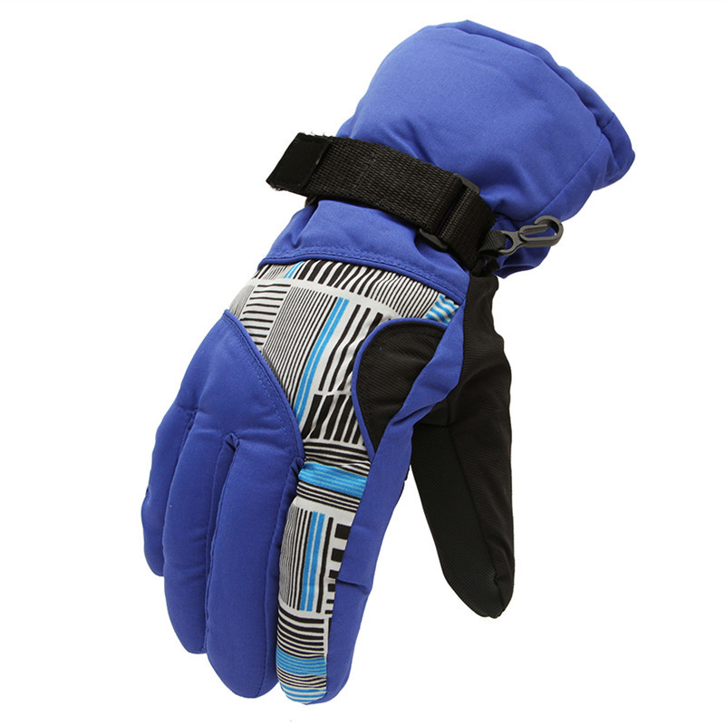 Men Snowboard Gloves Snowmobile Motorcycle Cycling Ski Gloves Outdoor Winter Sport Windproof Warm Gloves Snow Skiing Equipment