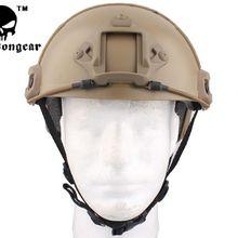 Велосипедный шлем крутая экономичная версия страйкбол шлем EMES w/рельсы крепление для ПНВ де Тан