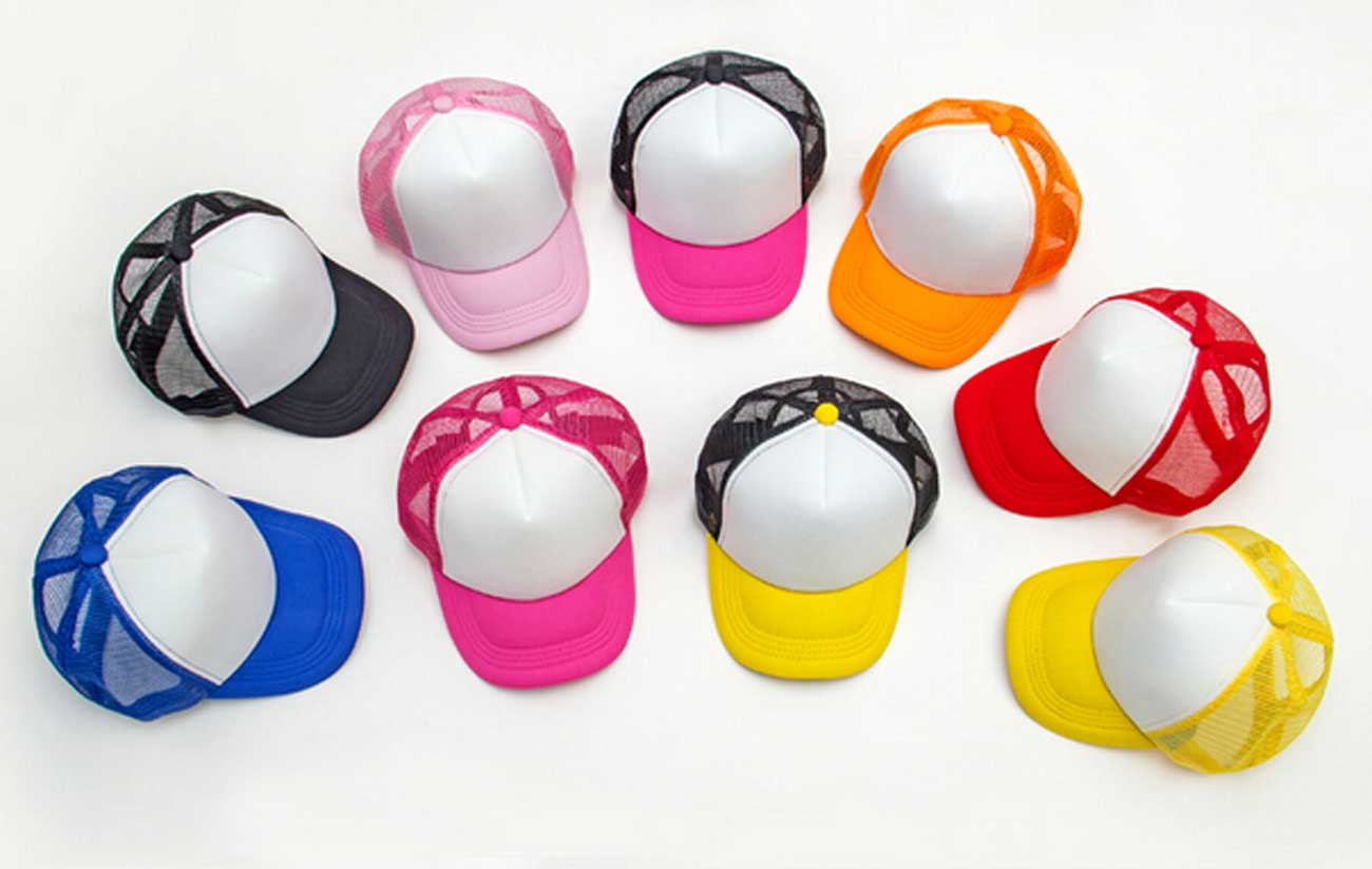 d59f2878cf7 10pcs Lot Cheap Kids Blank Trucker Hats Children Spring Two Tone Snapback  Hat Boy Summer Sun Visor Cap Girl Mesh Caps Wholesale