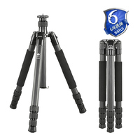 Sirui Pro Camera Foot Tripod Foldable Carbon Fiber Light Outdoor Travel Extendable Go Pro Accessories Monopod Stand T 2204X