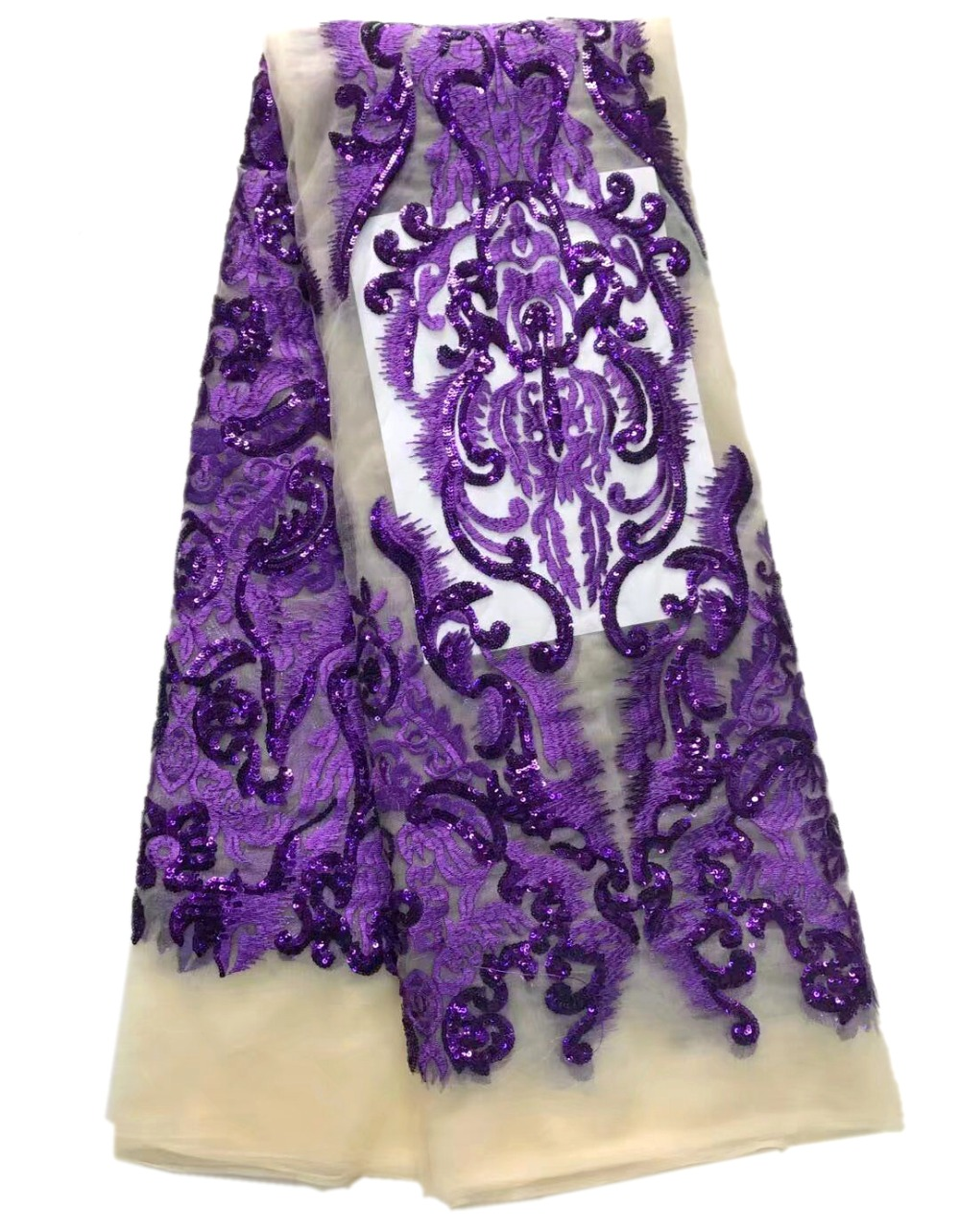 African French Lace For Wedding French Lace Fabric High Quality With Sequins Embroidered For dressesAfrican French Lace For Wedding French Lace Fabric High Quality With Sequins Embroidered For dresses