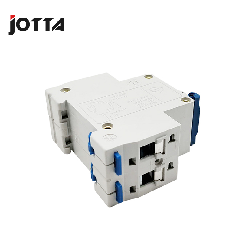 C45N 2 pole 63A 400V DZ47 C type mini circuit breaker mcb Mounting 35mm din rail Rated voltage 400V in Circuit Breakers from Home Improvement