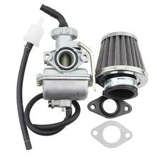 GOOFIT PZ16 16mm Carburetor with 35mm Air Filter for 50cc 70cc 90cc Horizontal Engine ATV Dirt Bike Go Kart Group-104