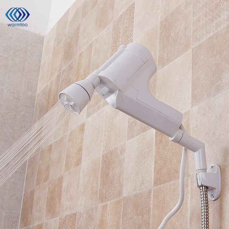 Casa Aquecedor Elétrico De Água aquecimento de Água do Banheiro Torneira de Água Quente Instantânea Tankless Instantânea 220 V 3000 W