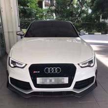 Хорошая применимость! RS5 передний сплиттер бампера- ABT Стиль углеродного волокна передний сплиттер губ для Audi RS5 бампер