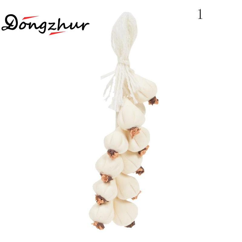 Toys & Hobbies 1:12 Dollhouse Miniature Vegetable Skewer Mini Model Clay Hand Pepper String Garlic String Doll House Decoration Accessories Low Price