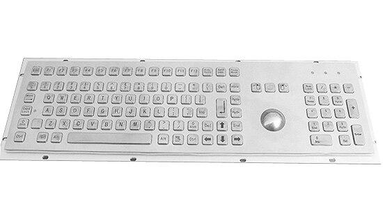 À la poussière, Étanche, Anti-corrosion Métallique Industrielle clavier avec touches numériques, touches FN IN-K97 pour la Banque, fonds équipement