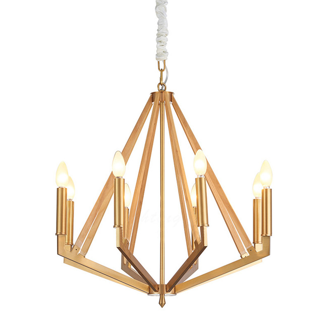 Modern copper chandelier lighting luxury clear glass chandeliers modern copper chandelier lighting luxury clear glass chandeliers lamp suspended light lustres de copper wood lamp aloadofball