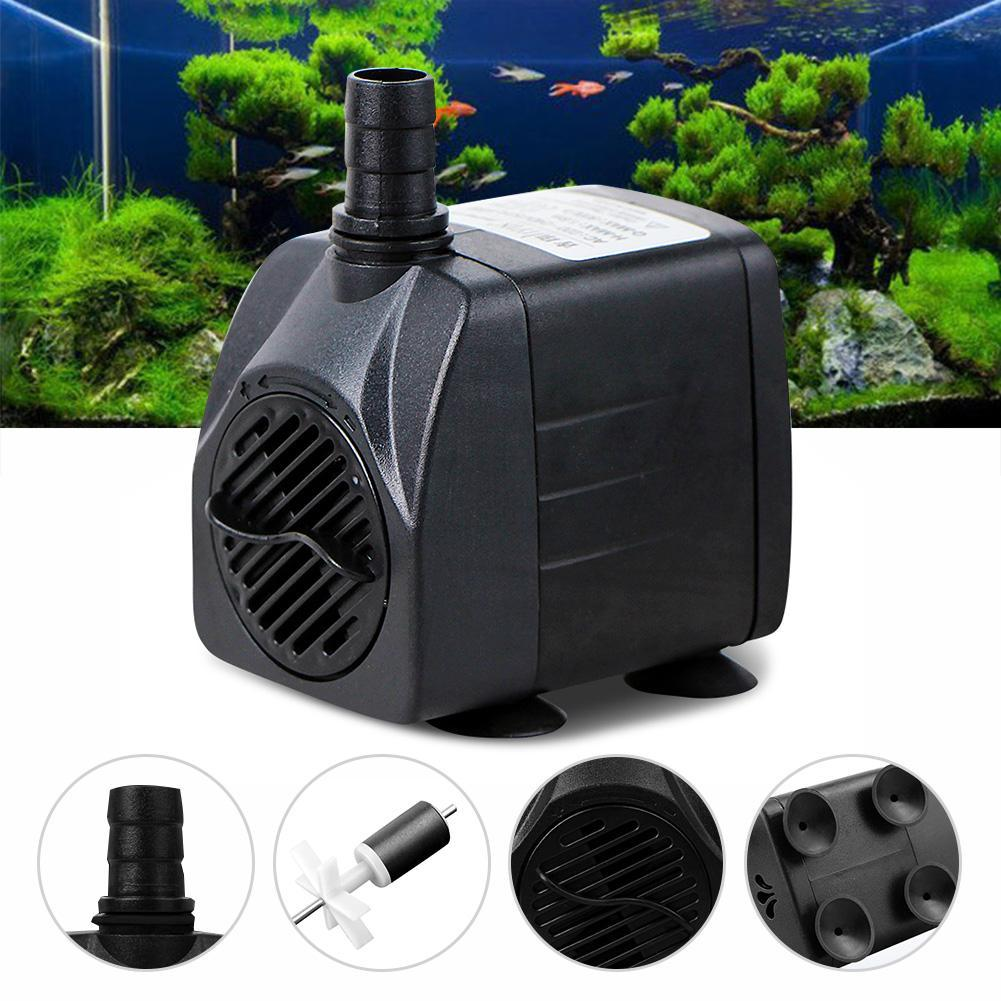 ᗔultra quiet 210gph 800l h 15w mini adjustable submersible water