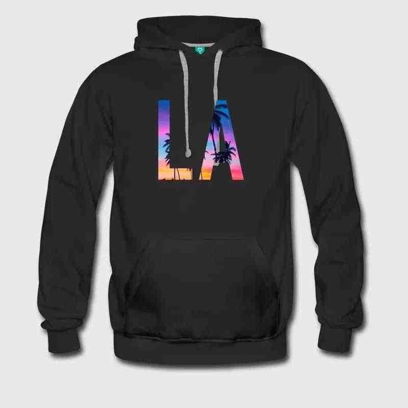 Men s Los Angeles - Total Basics Custom Print Handmade United States  downton Funny Novelty Personalized Hoodie 7b95cbf90c9
